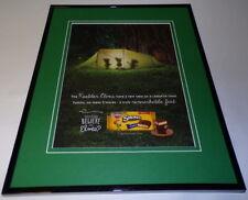 2014 Keebler Smores Cookies Framed 11x14 Vintage Advertisement