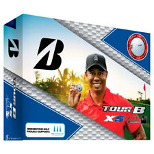 Bridgestone Golf Tour B XS Tiger Woods Special Edition Pro Golf Balls, 12 Pack