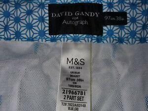 BNWOT David Gandy Swim Shorts Marks and Spencer Autograph Size 38w