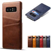 Leather Wallet Card Slot Holder Flip Stand Back Cover Case For Samsung Note 8