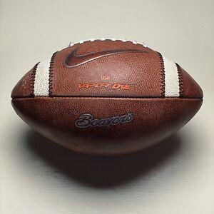 2019 Oregon State Beavers Game Used Nike Vapor One NCAA Football University PAC