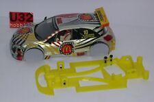 U3D Châssis 3D Renault Megane Trophy Anglewinder Ninco ,