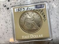 1853 50c Liberty Seated Silver Half *Grand Pa's Collection* Nice One, Dont Miss
