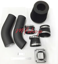 Coated Black 2PC For 1998-2001 Ford Ranger Mazda B2500 2.5L L4 Air Intake Kit