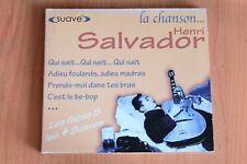 Henri Salvador - Qui sait-Charlot - C'est le be-bop - Bedelia - 25 titres - CD