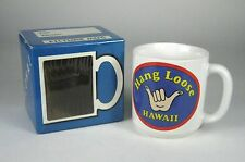 Hang Loose Coffee Mug Cup Tea Original Box Made Korea Picture Hawaii Hand