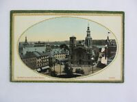 Vintage Postcard The Basilica And City Hall Square Quebec Canada