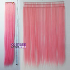 Light pink Hair Weft Extention (3 pieces) - 60cm High Temp - Cosplay 7_LLP