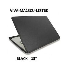 "GENUINE VIVA CUERO leather case for Macbook Air 13"",BLACK ,MA13CU-LESTBK"