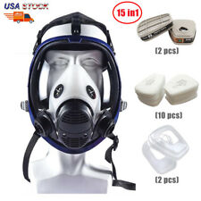 Us Respirator Gas Mask Full Face Painting Spraying Facepiece Safety Mask F 6800