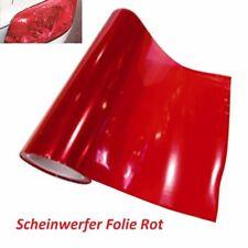 Scheinwerfer Folie  ROT  20x30cm Tönungsfolie Nebelscheinwerfer Rückleuchten