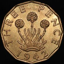 More details for 1942 | george vi threepence | nickel-brass | coins | km coins