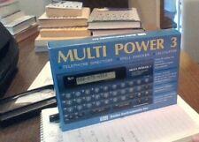 seiko Instruments Multi power 3 telephone directory, spell checker, calculator