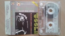 The Doors  – Alive, She Cried  POLAND CASS TAPE 1992 ...FREE SHIPPING