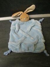 doudou lapin plume bleu kaloo