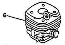 Echo CYLINDER JUG CS-6700 CSG-6700 QV-6700 chainsaw 10100132431 + 10101032431
