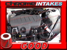 RED 04-08 PONTIAC GRAND PRIX GT1/2 GTP GXP 3.8L V6/5.3 5.3L V8 AIR INTAKE 3.5