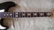Guitar Fretboard Decals Dot Markers Iron Cross decals