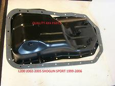 Mitsubishi L200 Shogun Sport Motore 4d56 2.5 Motore Coppa + Guarnizione