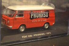 FIAT 238 Proraso 1973 diecast van in scale 1/43