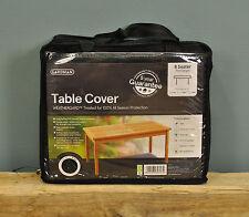 Gardman 8 Seater Rectangular Table Cover Black - Premium Range