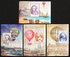 Nicaragua 1999. Scott # 2297 - 2300. Ballooning (4 sheets of 1)