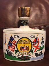 Liquor Decanter Bottle Alabama American Revolution Bicentennial Empty 1976
