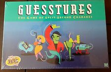 1999 GUESSTURES Game NEW SEALED NOS original version Split Second Charades