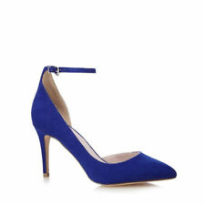 Stiletto Suede Patternless Court Heels for Women