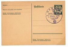 P341 1939 Danzig, Germany. Blank on reverse