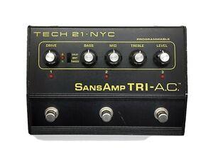 Tech 21 sansamp TRI-AC programmierbarer Gitarren-Preamp