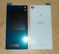 NEW SONY XPERIA Z3 D6603 D6653 D6616 Battery Door Back Cover Glass Panel White