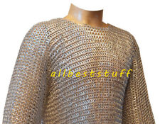 Aluminium Round Riveted Flat Washer Chain Mail Shirt XL Size Chainmail ABS