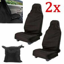 2 x Coprisedili per Auto Universali Coperture Sedile impermeabile Car Seat Cover