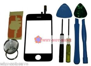 GLASS SCREEN DIGITIZER REPLACEMENT with tool kit for IPOD touch 2nd 2g 2 A1288