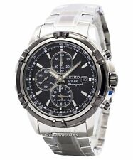 Seiko Solar Chronograph SSC147 SSC147P1 SSC147P Mens Watch