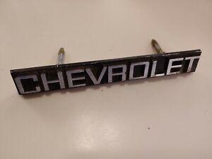 1980 1981 1982 1983 1984 1985 Chevrolet Caprice Grille Emblem Badge 14010540