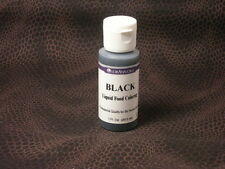 BLACK ~LORANN LIQUID FOOD COLOR~~PROFESSIONAL QUALITY~