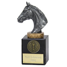 *Horse Head Trophy Award Prize 3 Sizes Available  FREE ENGRAVING Personalised