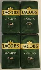 4 BAGS JACOBS KRONUNG PREMIUM GROUND COFFEE 17.6 OZ 500GMS MAY 2020 SEALED