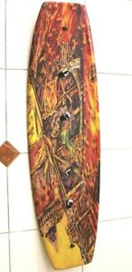VINTAGE WAKE TECH WAKEBOARD NO BINDING