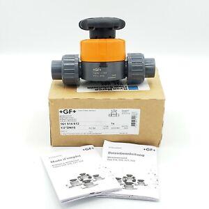 """Georg Fischer 161.514.612 Type 500 Series High Flow 1/2"""" Diaphragm Valve"""