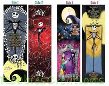 2 Set/Lot-THE NIGHTMARE BEFORE CHRISTMAS BOOKMARKS Jack Book Mark Card