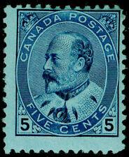 CANADA SG178, 5c blue/bluish, M MINT. Cat £90.