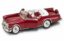 1953 Packard Caribbean Convertible Red Yatming 92798 1/18 Scale Diecast Car