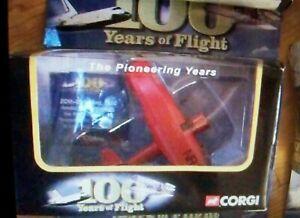 CORGI CS90113 100 YEARS OF FLIGHT, AMELIA EARHART LOCKHEED VEGA 5, VGC