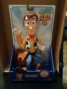 "Sheriff Woody - Disney Pixar Toy Story 4 (16"" Action Figure) Brand New"