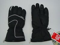 New Reusch Ski Gloves Snow Master Adult Medium (8.5) #2901391 GORETEX BLACK