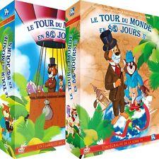 ★ Le Tour du Monde en 80 jours ★ Intégrale 2 Saisons - 2 Coffrets - 10 DVD