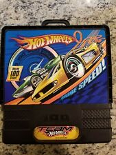 "VINTAGE 12"" Hot Wheels  Roller Carrying Case With Handle HOLDS 100 CARS!"